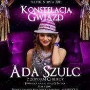 Konstelacja gwiazd Ada Szulc PartyBus imprezy gwiazd