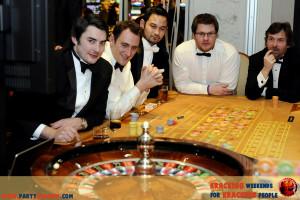 wieczór kawalerski casino night